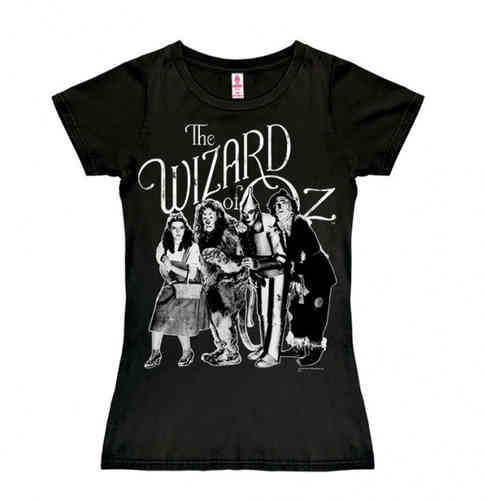 Wizard of Oz Frauen T-Shirt Dorothy & Friends