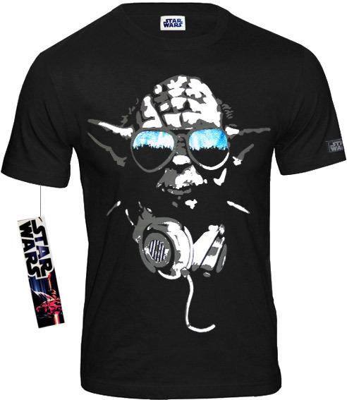 new photos cf68a 0d4f3 Star Wars Herren T-Shirt Yoda Cool schwarz