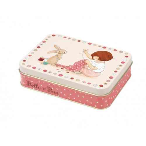 Belle & Boo Blechdose flach Sewing Kit