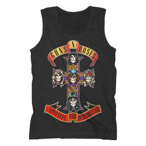 Guns N Roses Herren Tank Top Appetite For Destructions