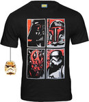 Star Wars Herren T-Shirt Bad Faces