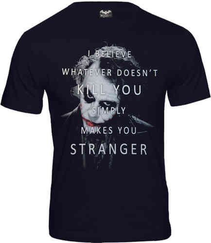 Batman Herren T-Shirt Joker Kill You