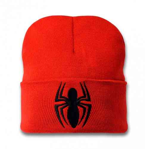 Marvel Comics Mütze Beanie Spiderman Logo