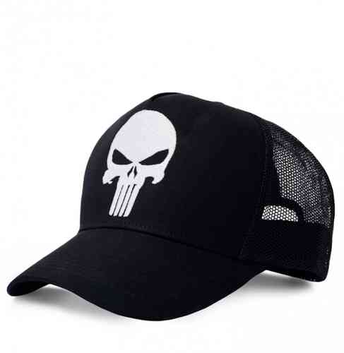 Marvel Comics Basecap Trucker Cap The Punisher Logo