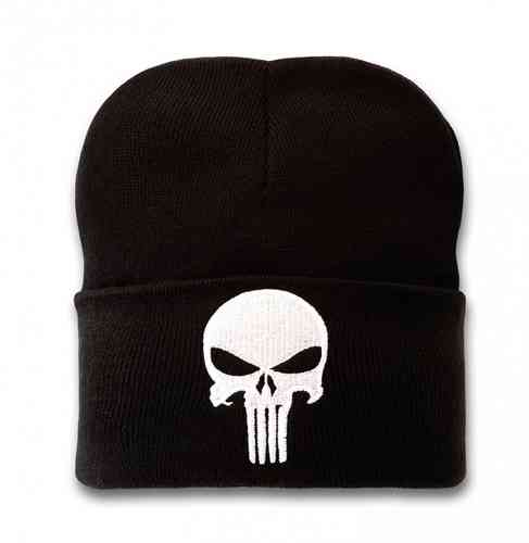 Marvel Comics Mütze Beanie The Punisher Logo