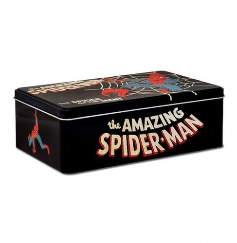 The Amazing Spiderman Blechdose flach