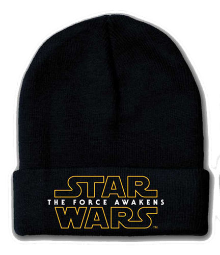 Star Wars The Force Awakens Logo Mütze Beanie