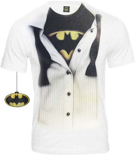 Batman Herren T-Shirt BATMAN SUIT