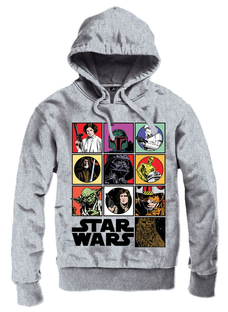 star wars herren hoodie kapuzenpullover icons kaufen. Black Bedroom Furniture Sets. Home Design Ideas