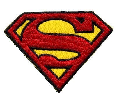 DC Comics Superman Logo Aufnäher Patch