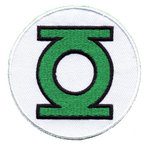 DC Comics Green Lantern Logo Aufnäher Patch
