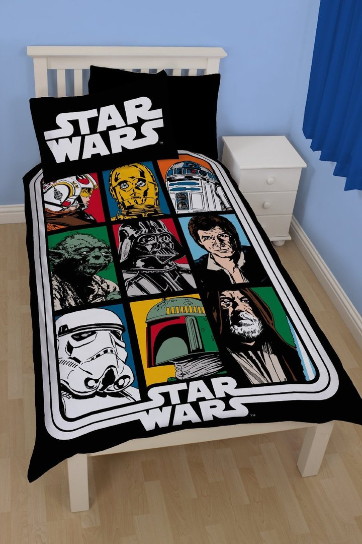 star wars force wende bettw sche 135 x 200 cm bestellen. Black Bedroom Furniture Sets. Home Design Ideas