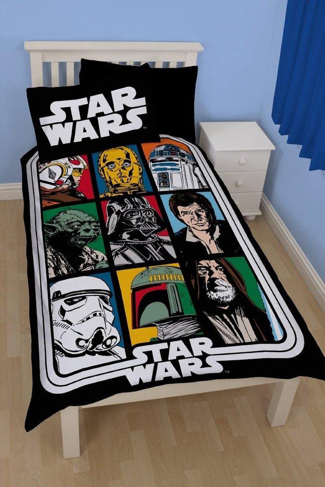 Star Wars Force Wende Bettwäsche 135 X 200 Cm Bestellen