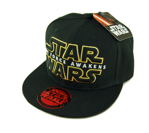 Star Wars The Force Awakens Logo Flat Cap