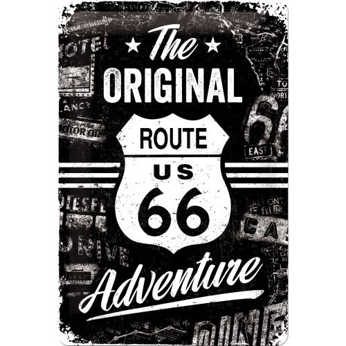 Route 66 Adventure Blechschild 20x30 cm