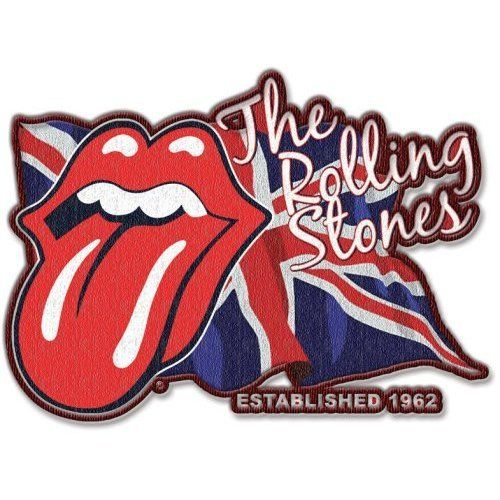Rolling Stones Lick The Flag Iron-on Patch Aufnäher