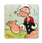 Popeye The Sailorman Hand Untersetzer Coaster