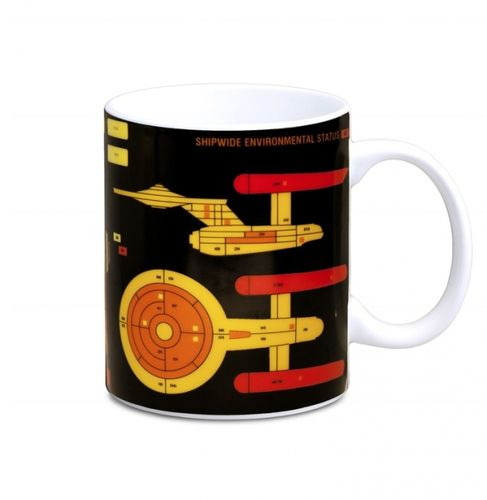 Star Trek Starship Tasse Kaffeebecher