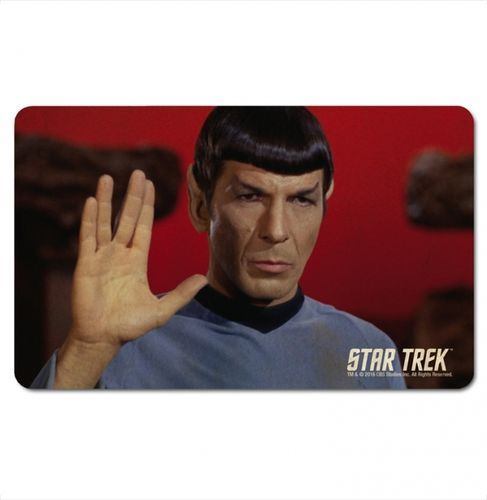 Star Trek Frühstücksbrett Mr. Spock Live Long And Prosper