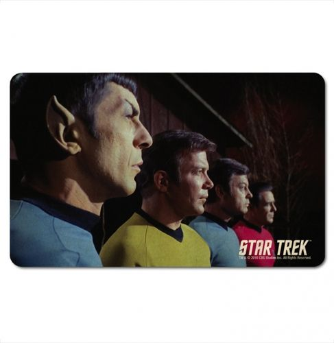 Star Trek Frühstücksbrett Spock, Kirk, McCoy and Scotty