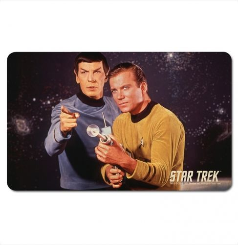 Star Trek Frühstücksbrett Mr. Spock and Captain Kirk