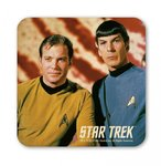 Star Trek Captain Kirk and Mr Spock Untersetzer Coaster