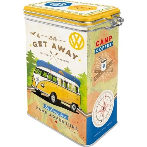 Retro VW Bulli Lets Get Away Aromadose