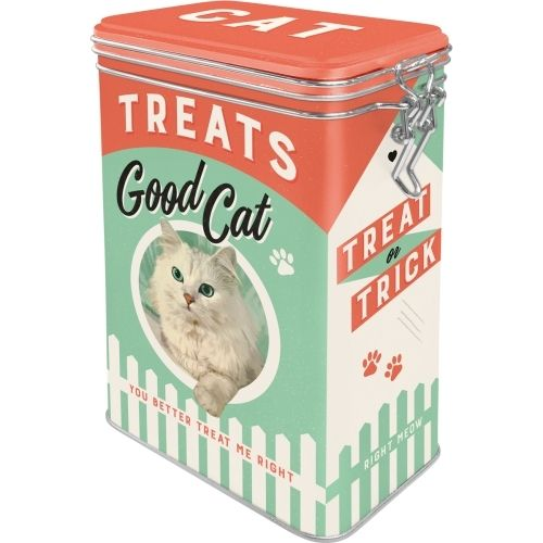 Retro Treats Good Cat Aromadose Blechdose