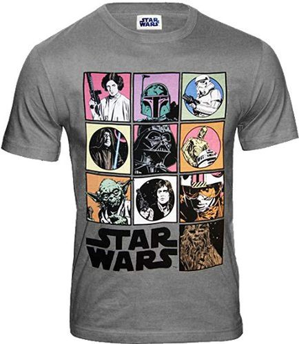 Star Wars Herren T-Shirt Icons