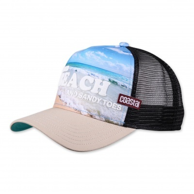 Retro Coastal Cap Trucker Mesh Basecap I Need Beach...