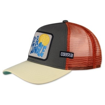 Retro Coastal Cap Trucker Mesh Basecap 9FT. &Single