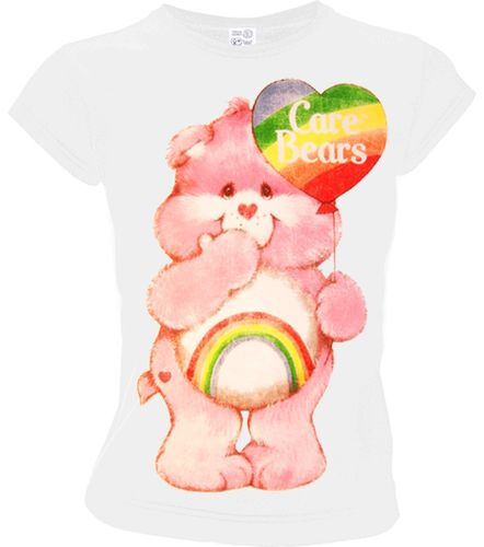 Glücksbärchis Care Bears Frauen T-Shirt Heart Balloon
