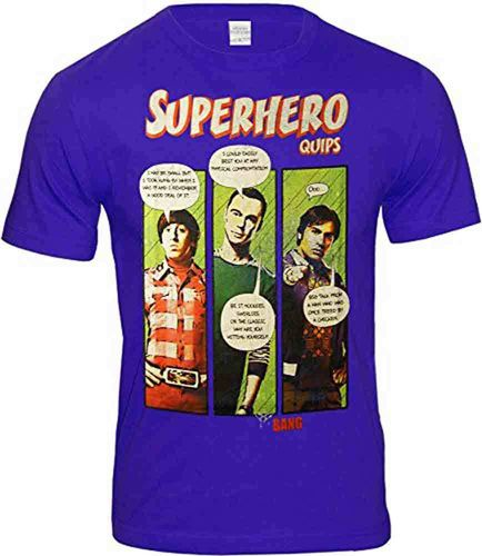 The Big Bang Theory Herren T-Shirt Superhero