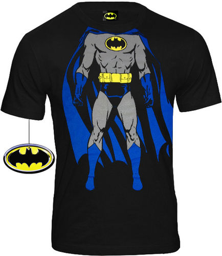 DC Comics Herren T-Shirt Batman Body