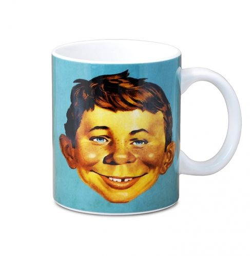 Retro Comic Tasse Kaffeetasse MAD Magazin TV