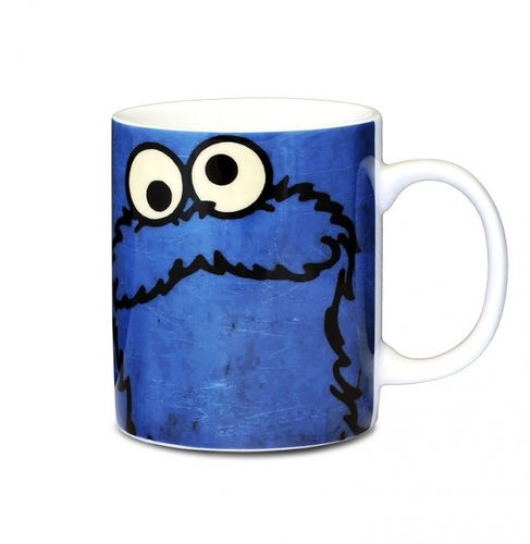 Cookie Monster Tasse Becher Sesamstrasse Krümelmonster