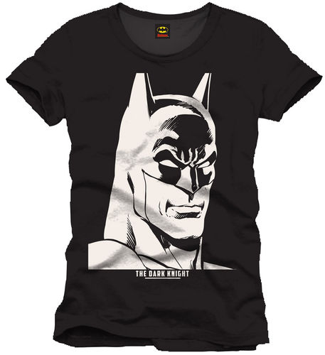 DC Comics Herren T-Shirt Batman Black&White
