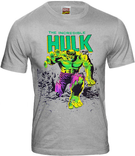 Retro Marvel Comics Herren T-Shirt Hulk Creater