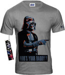 Star Wars Herren T-Shirt Darth Vader Who Is Your Daddy