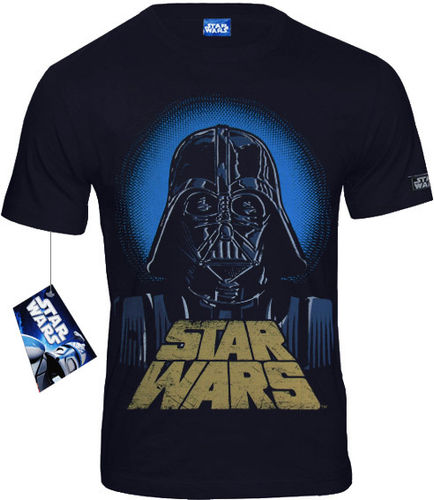 Star Wars Herren T-Shirt Darth Vader Logo