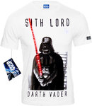 Star Wars Darth Vader Herren T-Shirt Sith Lord weiß