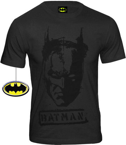 DC Comics Herren T-Shirt Batman Tag Face