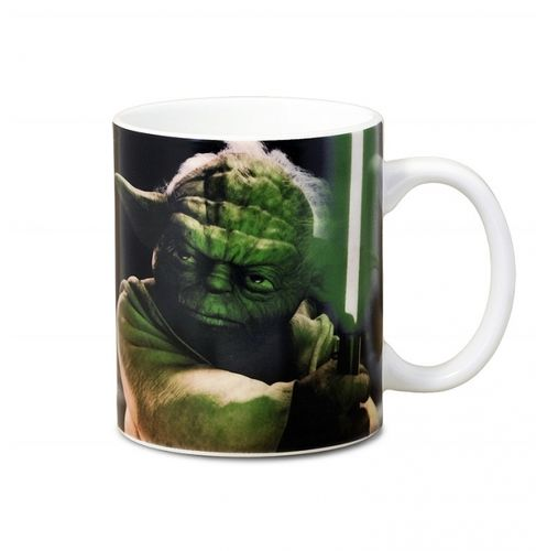 Star Wars Tasse Kaffeetasse Master of the Jedi Yoda
