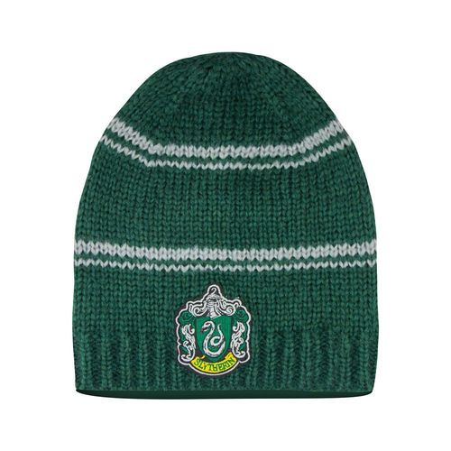 Harry Potter Beanie Unisex Mütze Slytherin Logo
