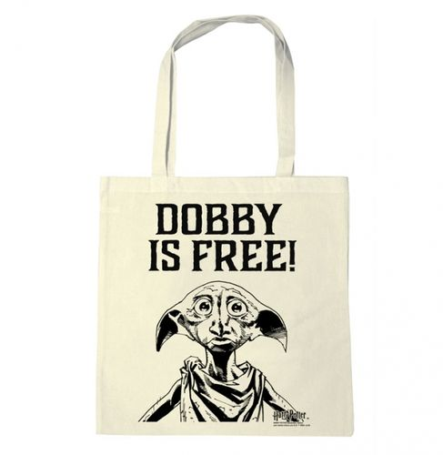 Harry Potter Stoffbeutel Cotton Bag Dobby Is Free