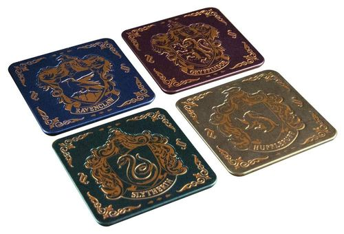 Harry Potter Untersetzer Set Hogwarts Crest Coasters