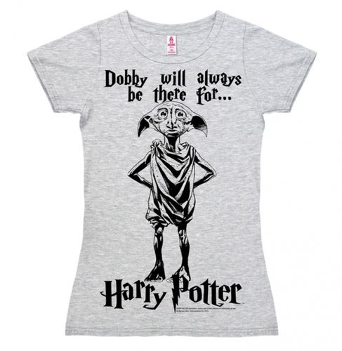 Harry Potter Frauen Girl T-Shirt Dobby Will Always Be There