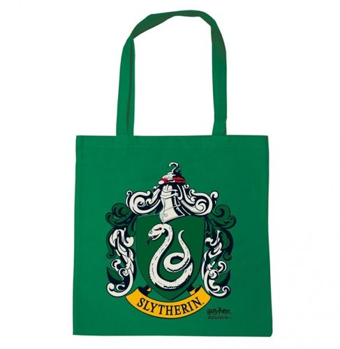 Harry Potter Stoffbeutel Cotton Bag Slytherin Logo
