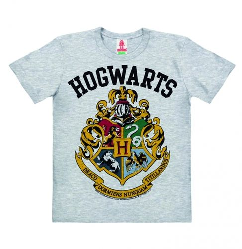 Harry Potter Kinder Organic T-Shirt Hogwarts Logo