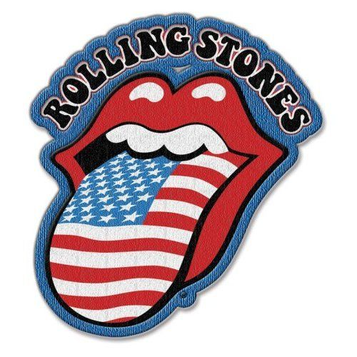 The Rolling Stones Aufnäher Patch Aufbügler US Tongue